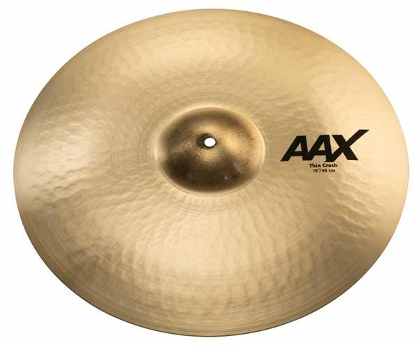 Sabian/AAX 《セイビアン》 AAX-19TC-B [AAX Thin Crash 19