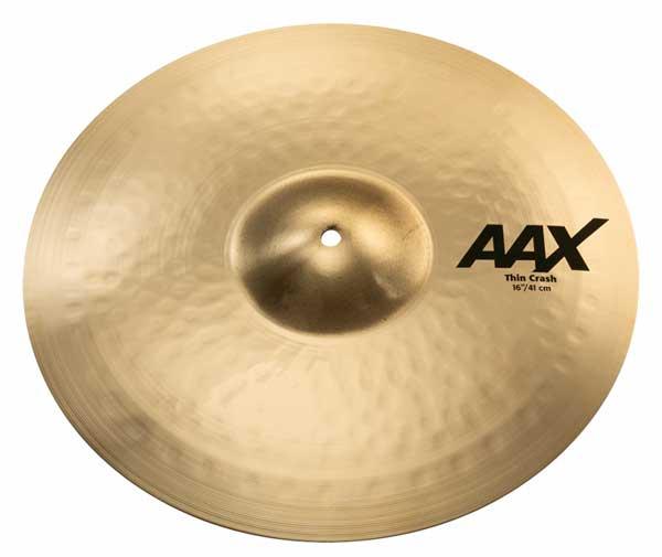 Sabian/AAX 《セイビアン》 AAX-16TC-B [AAX Thin Crash 16