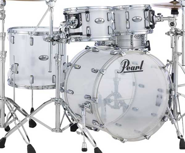 Pearl 《パール》 CRB524P/C #733 [CRYSTAL BEAT 4 pc Drum Shell Pack / Frost Acrylic]