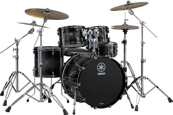 YAMAHA 《ヤマハ》 LIVE CUSTOM 4pc Drum Set (Bass Drum 深さ18インチ)[LNP6F3BWS + LNB2218BWS] 【BD22、FT16、TT12&10/ブラックシャドーサンバースト(BWS)】【お取り寄せ品】