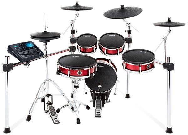 ALESIS《アレシス》 Strike Kit 3 Cymbals Set Up ※ドラムペダル、ハイハット・スタンドは別売りです。【お取り寄せ品】【oskpu】
