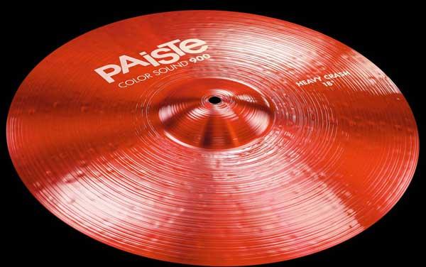PAiSTe 《パイステ》 Color Sound 900 Red Heavy Crash 18