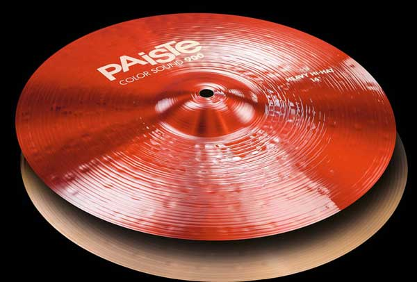PAiSTe 《パイステ》 Color Sound 900 Red Heavy HiHat 14