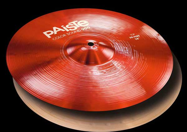 PAiSTe 《パイステ》 Color Sound 900 Red HiHat 14