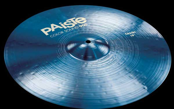 PAiSTe 《パイステ》 Color Sound 900 Blue Crash 17