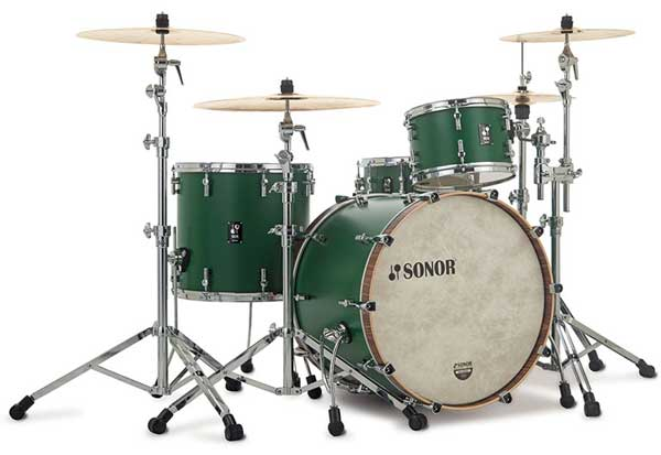 SONOR 《ソナー》 SQ1-320:RGR [SQ1 Series / 20BD Shell Set(20BD・12TT・14FT): ROADSTAR GREEN] 【お取り寄せ品】