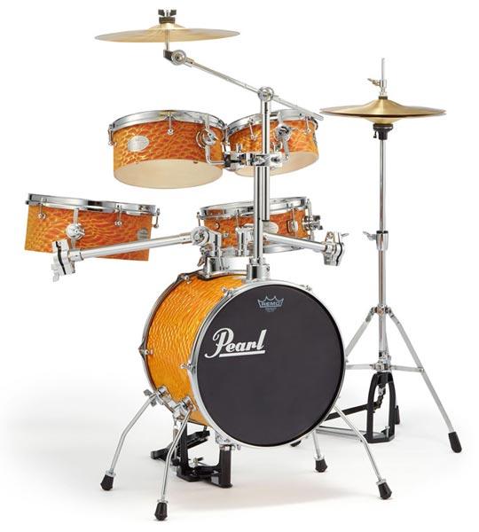 Pearl 《パール》 RT-645N/C #439 [Rhythm Traveler Ver.3S / オレンジ・スワイル] 【限定品】 【ドラムスローン&スティック サービス!】【台数限定特価!】