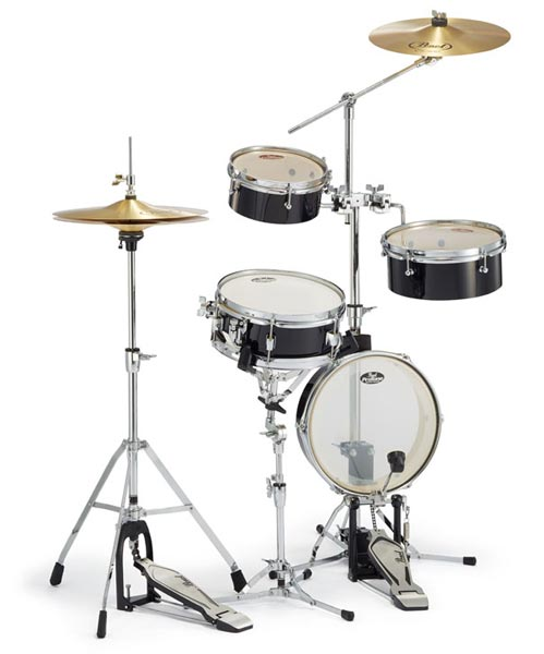 Pearl 《パール》 RT-5124N #31 [Rhythm Traveler Light / ジェットブラック] 【ドラムスローン&スティック サービス!】