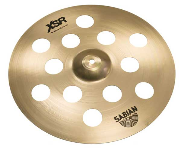 SABIAN 《セイビアン》 XSR-16OZCS-B [16″XSR O-Zone Crash / Brilliant]