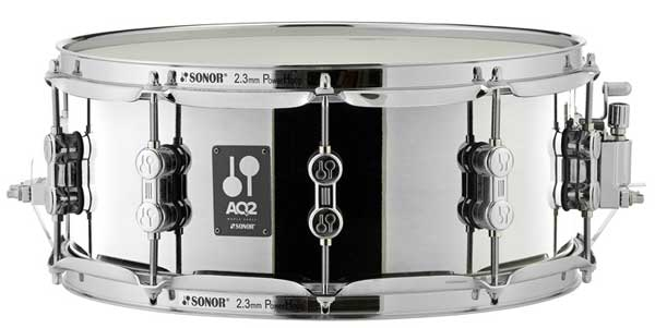 SONOR 《ソナー》 AQ2-1455SDS [AQ2 Series Steel Shell Snare Drum 14