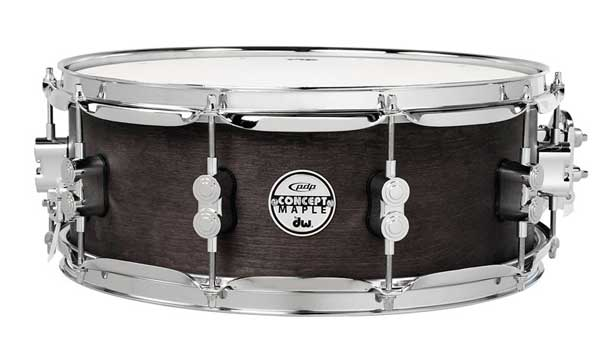 pdp by DW《ピーディーピー》 PA-PDSN5514/WCR [Concept Series Black Wax Maple Snare Drum / 14