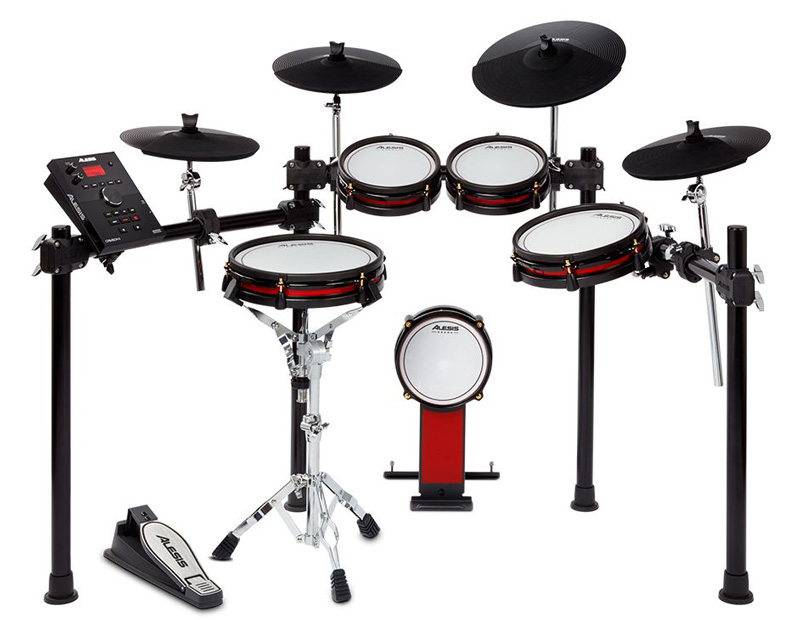 ALESIS《アレシス》 CRIMSON II SPECIAL EDITION [Nine-Piece Electronic Drum Kit with Mesh Heads]【oskpu】