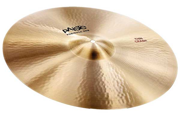 PAiSTe 《パイステ》 Formula 602 Classic Sounds Thin Crash 22""