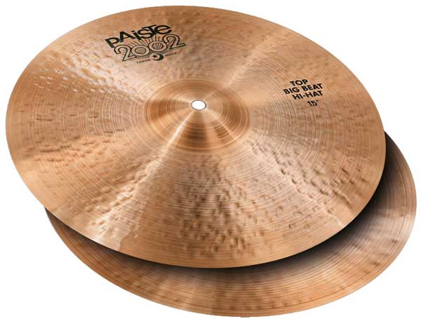 "PAiSTe 《パイステ》 2002 Black Big Beat HiHat 15"" pair"