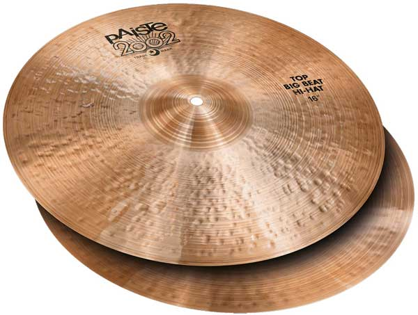PAiSTe 《パイステ》 2002 Black Big Beat HiHat 16