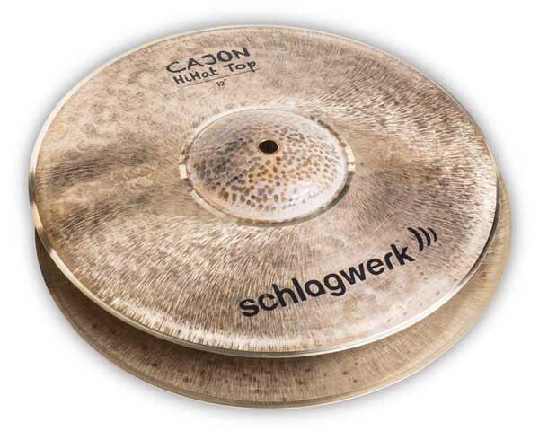 Schlagwerk Percussion 《シュラグヴェルク》 SR-CHH12 [Cajon HiHats 12