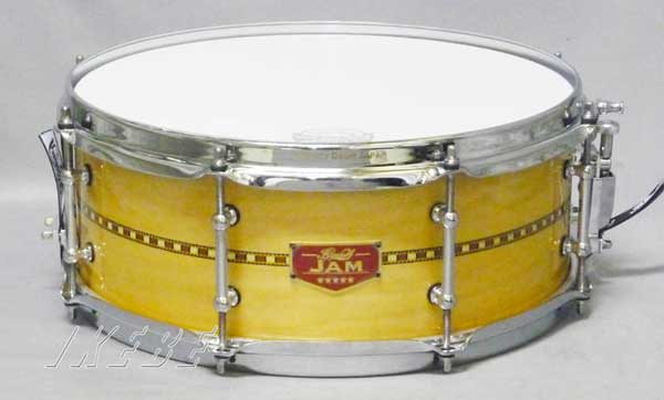 "BONNEY DRUM JAPAN《ボニードラム》 ""JAM"" Snare Drum 14""×5.5"" [Honey Gloss LQ]"
