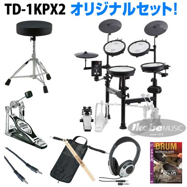 Roland 《ローランド》 TD-1KPX2 Basic Set / Single Pedal【oskpu】