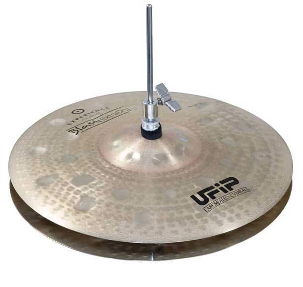 UFiP 《ユーヒップ》 ES-15BHX [Experience Collection / Blast Extra Dry HiHats 15