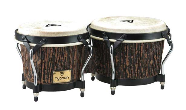TYCOON PERCUSSION《タイクーンパーカッション》STBS-B (LW) [Supremo Series Bongo / Lava Wood]【お取り寄せ品】
