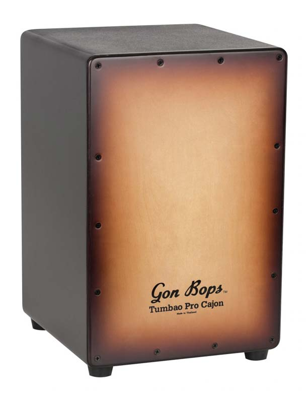 GON BOPS GON-TPCJBTB [Tumbao Pro Cajon / Burnt-Toast-Burst / with Soft Case]