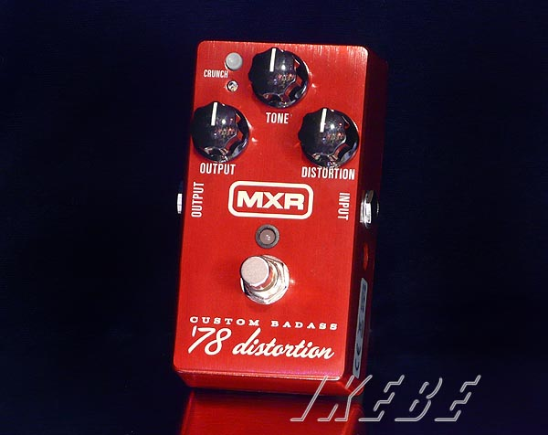 MXRM78 Custom Badass '78 Distortion 【特価】【あす楽対応】【送料無料!】【9Vアダプタープレゼント】