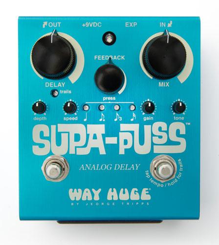WAYHUGE 《ウェイ・ヒュージ》Supa-Puss Analog Delay【9Vアダプタープレゼント】