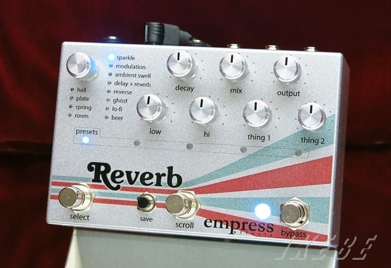 empress 《エンプレス》Reverb 【High-Quality Stereo Reverb】【あす楽対応】【送料無料!】