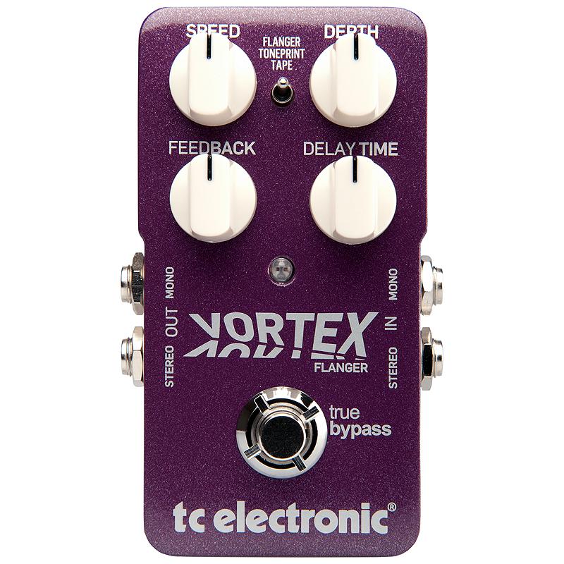 t.c.electronic 《tcエレクトロニック》 Vortex Flanger【あす楽対応】