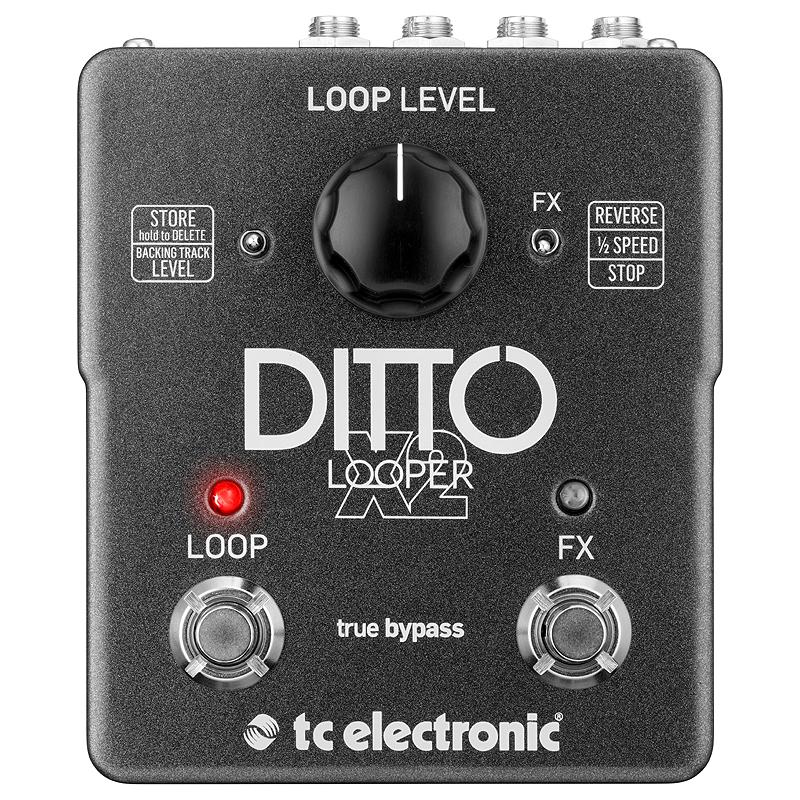 t.c.electronic 《tcエレクトロニック》DDITTO X2 LOOPER 【あす楽対応】