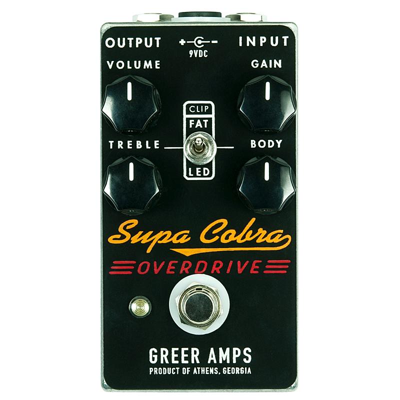 Greer Amps《グリアー・アンプス》 Supa Cobra Overdrive 【あす楽対応】
