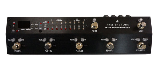 Free The Tone 《フリー・ザ・トーン》ARC-53M AUDIO ROUTING CONTROLLER -BLACK COLOR MODEL- Ver.2.0【送料無料】【oskpu】