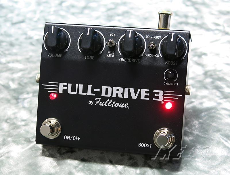 Fulltone 《フルトーン》FULL-DRIVE3 Black【あす楽対応】【送料無料!】
