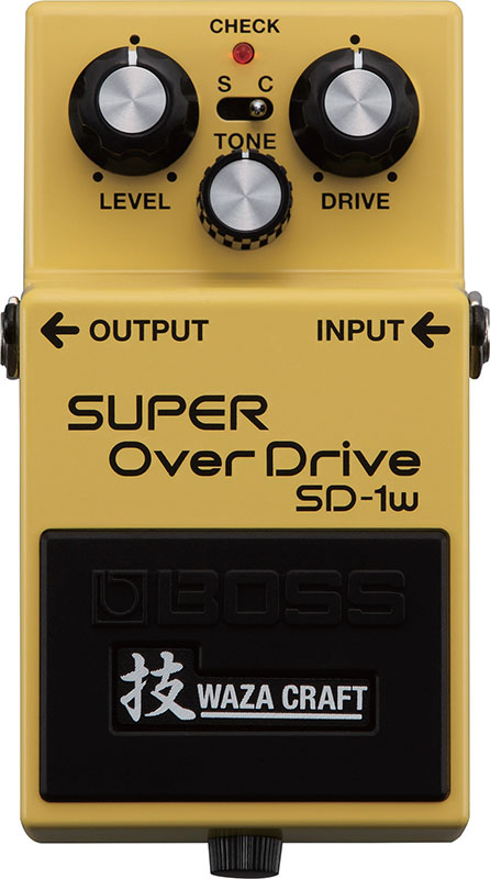 BOSS 《ボス》SD-1W [SUPER OverDrive 技 Waza Craft Series Special Edition] 【台湾製】【oskpu】【あす楽対応】【もれなく!BOSS ピンバッチプレゼント】【BOSS Effects TONE FREEZE Campaign 2018 対象商品】