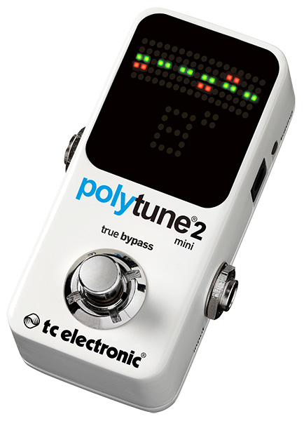 t.c.electronic 《tcエレクトロニック》 POLYTUNE 2 MINI ※国内正規品