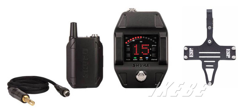 SHURE 《シュアー》GLXD16 [ボディパック型 / ギターペダルワイヤレスシステム] + ESP TRANSMITTER HOLDER TH-200M Set 【oskpu】