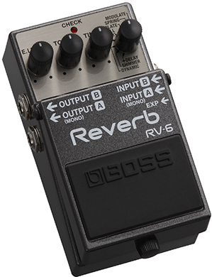 BOSS 《ボス》RV-6 [Digital Reverb]【oskpu】【あす楽対応】【もれなく!BOSS ピンバッチプレゼント】