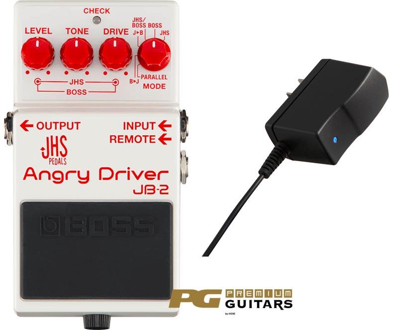 BOSS 《ボス》 JB-2 Angry Driver & PSA-100S2 SET 【あす楽対応】 【オーバードライブ】【ディストーション】【oskpu】