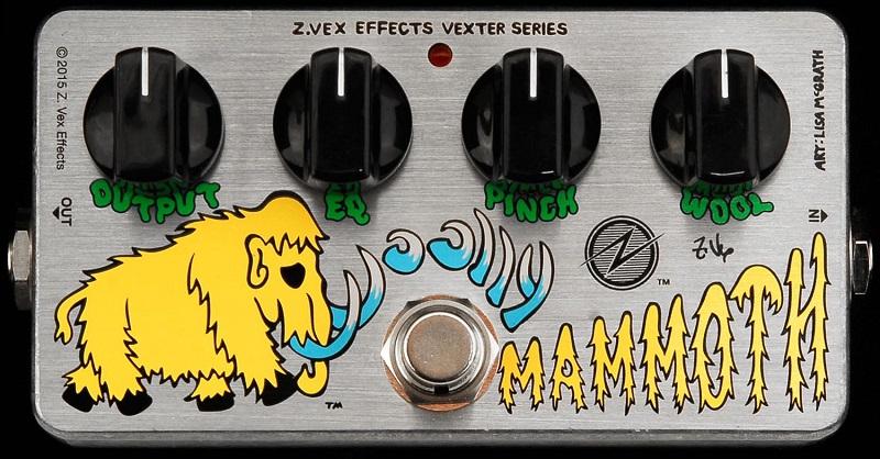 <title>チャック ズイッキー氏デザインのベースファズ Z-VEX 《ジーヴェックス》Woolly Mammoth オンライン限定商品