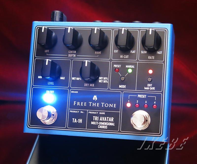 Free The Tone 《フリー・ザ・トーン》TA-1H [TRI AVATAR Multi-Dimensional Chorus] 【送料無料!】