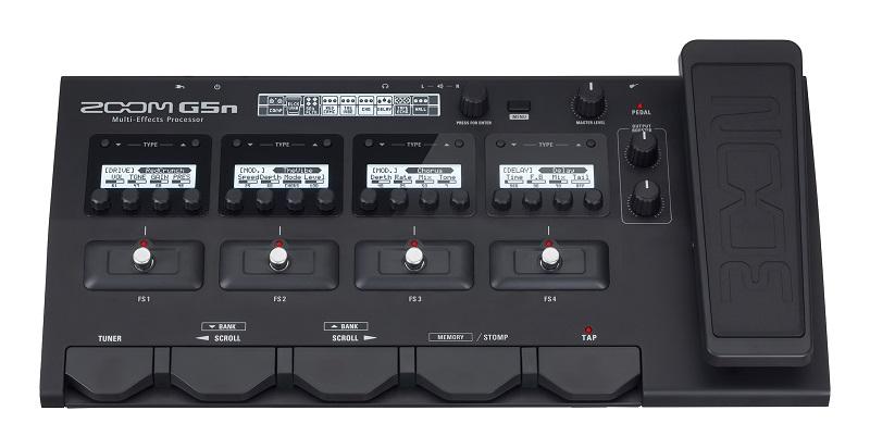 ZOOM 《ズーム》 G5n [Multi-Effects Processor] + EC-60ハードケースセット【ファームウェア・バージョン2.0】【送料無料!】【oskpu】