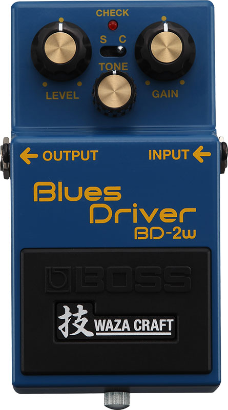 BOSS 《ボス》 BD-2W(J) [MADE IN JAPAN] [Blues Driver 技 Waza Craft Series Special Edition]【IKEBE×BOSSオリジナルデザイン缶クージープレゼント】【oskpu】