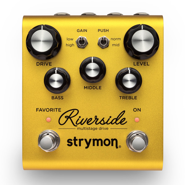 strymon 《ストライモン》 Riverside [Multistage Drive] 【あす楽対応】【送料無料!】【oskpu】