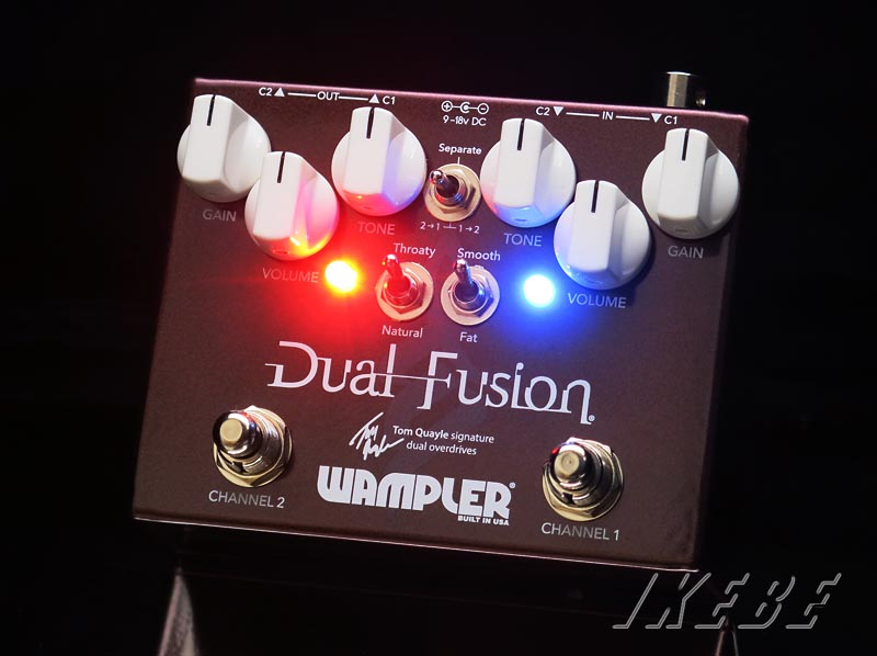 Wampler Pedals 《ワンプラー》Dual Fusion【特価 Pedals Wampler 《ワンプラー》Dual】【あす楽対応】【送料無料!】, イワキボード:73918c30 --- anaphylaxisireland.ie