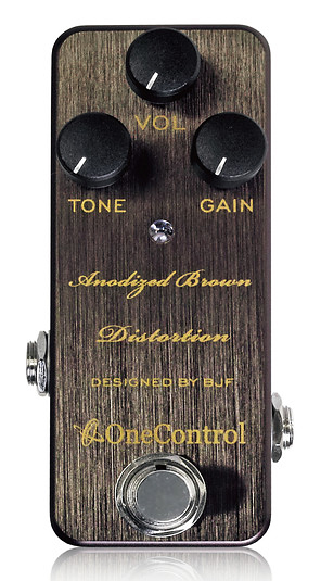One Control 《ワン・コントロール》 Anodized Brown Distortion