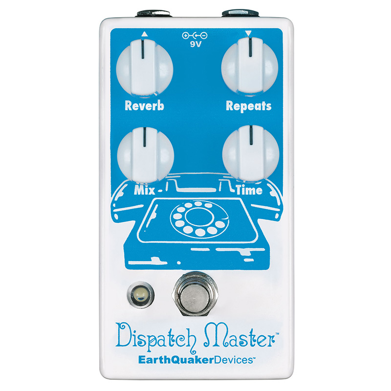 Earth Quaker Devices 《アースクウェイカー・デバイス》Dispatch Master Delay & Reverb 【あす楽対応】