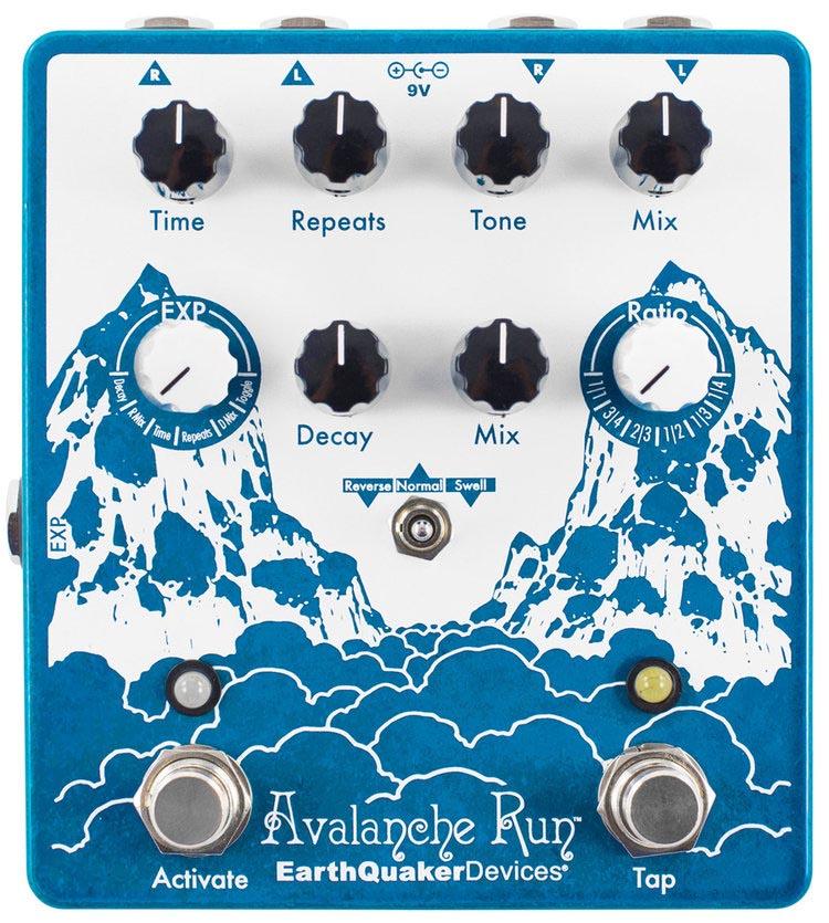 Earth Quaker Devices 《アースクウェイカー・デバイス》Avalanche Run V2 Stereo Delay & Reverb【あす楽対応】