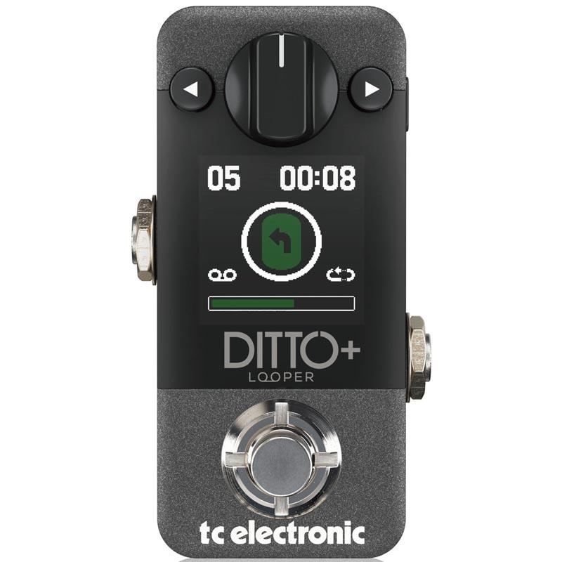 ループの全てをこの小さなストンプボックスに凝縮 t.c.electronic 《tcエレクトロニック》DITTO+ ※国内正規品 アウトレット☆送料無料 希少 あす楽対応
