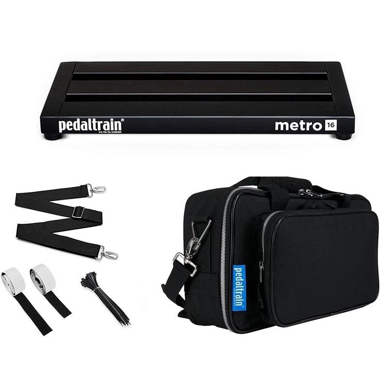 ランキングTOP10 3段のレールで構成されたMetroシリーズ Pedal Train 豪華な 《ペダルトレイン》PT-M16-SC Metro 16 case w あす楽対応 soft