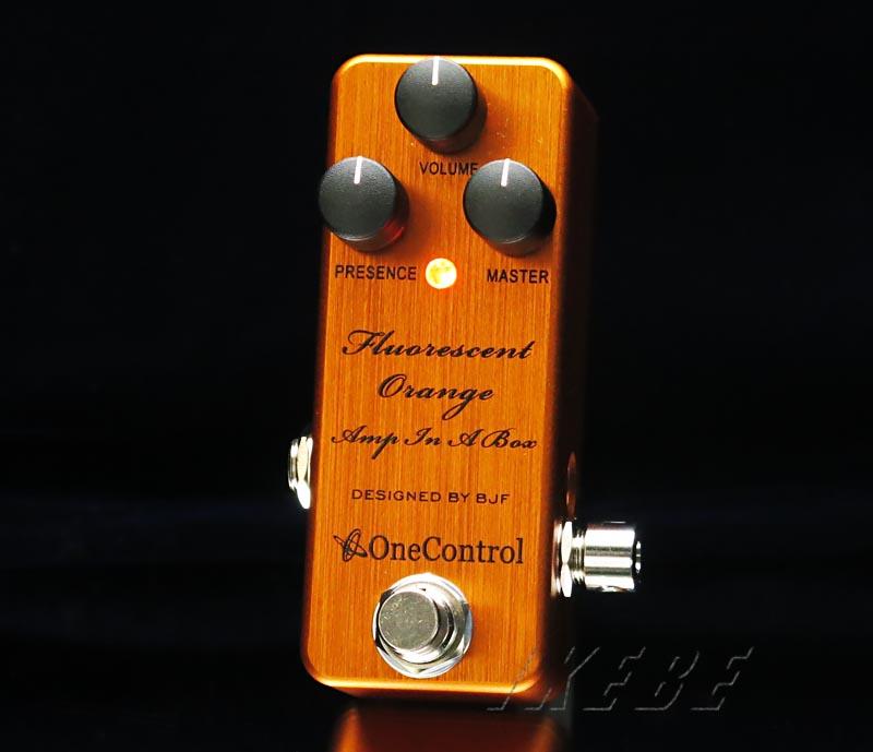 One Control 《ワン・コントロール》 Fluorescent Orange Amp In A Box 【入荷!】